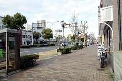 シェアハウスから山手線・大倉山駅へ向かう道の様子。(2013-03-14,共用部,ENVIRONMENT,1F)