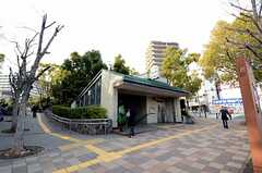 山手線・大倉山駅の様子。(2013-03-14,共用部,ENVIRONMENT,1F)