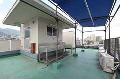 屋上の様子3。(2013-08-02,共用部,OTHER,5F)