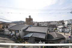 窓からの景色。(201号室)(2013-03-23,専有部,ROOM,2F)