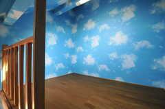 ロフトの様子。(203号室)(2013-03-23,専有部,ROOM,2F)