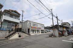 神戸電鉄・鈴蘭台駅からシェアハウスへ向かう道の様子。(2013-03-23,共用部,ENVIRONMENT,1F)