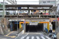 神戸電鉄・鈴蘭台駅周辺の様子。(2013-03-23,共用部,ENVIRONMENT,1F)