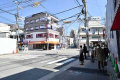 神戸電鉄・鈴蘭台駅周辺の様子。(2019-03-26,共用部,ENVIRONMENT,1F)