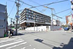 神戸電鉄・鈴蘭台駅の様子。区役所と商業施設が入っています。(2019-03-26,共用部,ENVIRONMENT,1F)