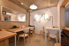 カフェのような内装です。(2019-02-13,共用部,OTHER,1F)