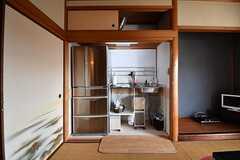 物置スペースがキッチンです。(2017-02-07,共用部,KITCHEN,2F)