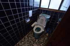 ウォシュレット付きトイレの様子。(2015-02-03,共用部,TOILET,2F)