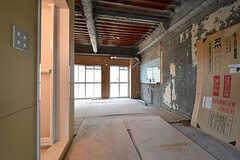 専有部の様子。予算50万円を上限にお好きな部屋を作っても良いのだそう。※詳細な規定有り。(102号室)(2016-12-12,専有部,ROOM,1F)