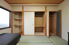 収納の様子。(308号室)(2012-09-14,専有部,ROOM,3F)