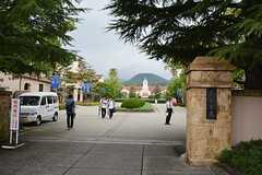 徒歩3分で関西学院大学です。(2015-09-01,共用部,ENVIRONMENT,1F)