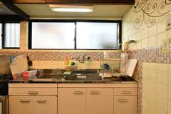 キッチンの様子。(2017-06-06,共用部,KITCHEN,1F)
