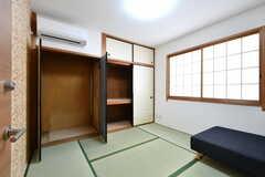 収納の様子。(401号室)(2017-12-11,専有部,ROOM,4F)