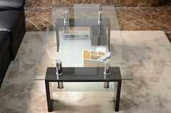 センターテーブルの様子。(2013-10-30,共用部,LIVINGROOM,9F)