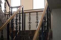 階段の様子2。(2013-10-30,共用部,OTHER,9F)