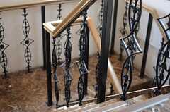 階段の様子2。(2013-10-30,共用部,OTHER,10F)