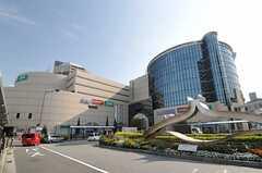 JR東海道本線・西宮駅前の様子。(2013-10-30,共用部,ENVIRONMENT,1F)