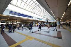 阪急線・西宮北口駅構内の様子。(2016-04-05,共用部,ENVIRONMENT,1F)