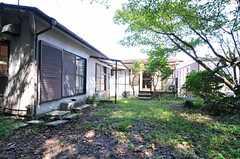 庭の様子2。(2013-09-20,共用部,LIVINGROOM,2F)