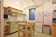 キッチンの様子。(2012-03-23,共用部,KITCHEN,1F)
