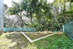 敷地内は緑が豊か。(2019-02-20,共用部,OTHER,1F)