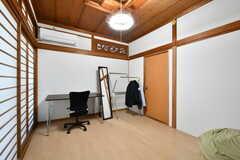 専有部の様子3。備品は入居者さんの私物です。(204号室)(2018-06-13,専有部,ROOM,2F)