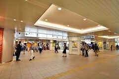 小田急線・本厚木駅の様子。(2019-08-21,共用部,ENVIRONMENT,1F)