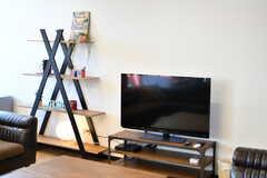 共用TVの様子。(2020-02-05,共用部,TV,1F)
