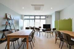 多目的室ではECCの英会話教室が開催されるそう。英会話教室がない時は利用可能です。(2020-02-05,共用部,OTHER,1F)