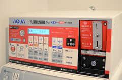 洗濯機は無料、乾燥機が有料です。(2014-03-17,共用部,LAUNDRY,1F)