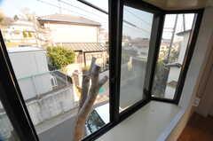 窓から見た外の景色。(206号室)(2014-03-17,専有部,ROOM,2F)
