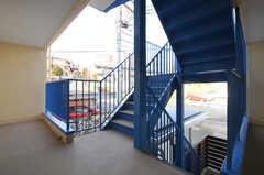 階段の様子。(2014-03-17,共用部,OTHER,2F)