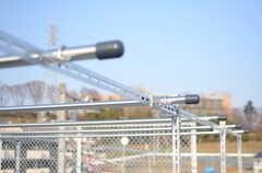 物干しができる器具が用意されています。(2014-03-17,共用部,OTHER,4F)