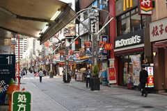 本厚木駅前の商店街。(2018-04-12,共用部,ENVIRONMENT,1F)