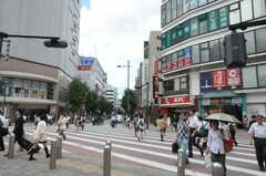小田急線・本厚木駅前の様子。(2010-10-15,共用部,ENVIRONMENT,5F)