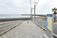 海までは徒步3分ほど。(2018-03-06,共用部,ENVIRONMENT,1F)