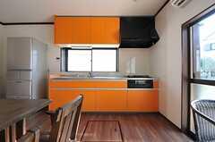 キッチンの様子。(2012-11-20,共用部,KITCHEN,1F)