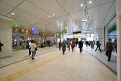 JR・茅ヶ崎駅構内の様子。(2018-10-15,共用部,ENVIRONMENT,1F)