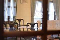 チラリ。(2013-02-18,共用部,LIVINGROOM,2F)