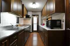 キッチンの様子。(2013-02-18,共用部,KITCHEN,2F)
