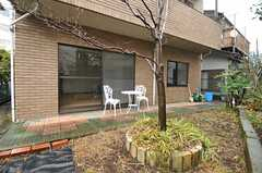 庭の様子。(2013-02-18,共用部,OTHER,1F)