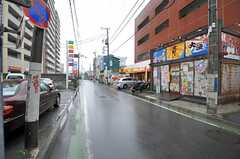 各線・茅ヶ崎駅からシェアハウスへ向かう道の様子。(2013-02-18,共用部,ENVIRONMENT,1F)