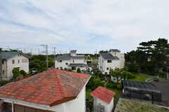 屋上から見た景色。もう少しで海が見えそうな距離です。(2018-07-11,共用部,OTHER,3F)