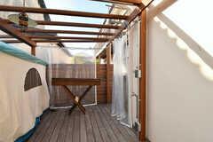 実は屋外シャワーも設置されています。(2016-12-05,共用部,OTHER,1F)