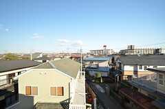 屋上から見た景色。周りには高い建物がありません。(2016-03-01,共用部,OTHER,3F)