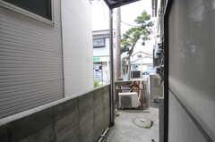 庭の様子。(101号室)(2013-03-18,専有部,ROOM,1F)