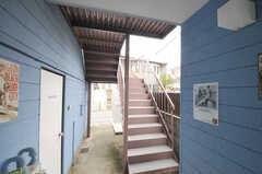 階段の様子。(2013-03-18,共用部,OTHER,1F)