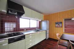 キッチンの様子。(2013-03-18,共用部,KITCHEN,2F)