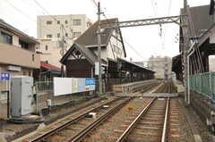 江ノ島電鉄・江ノ島駅の様子。(2013-03-18,共用部,ENVIRONMENT,1F)
