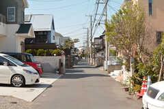 近所は閑静な住宅街。(2019-03-20,共用部,ENVIRONMENT,1F)